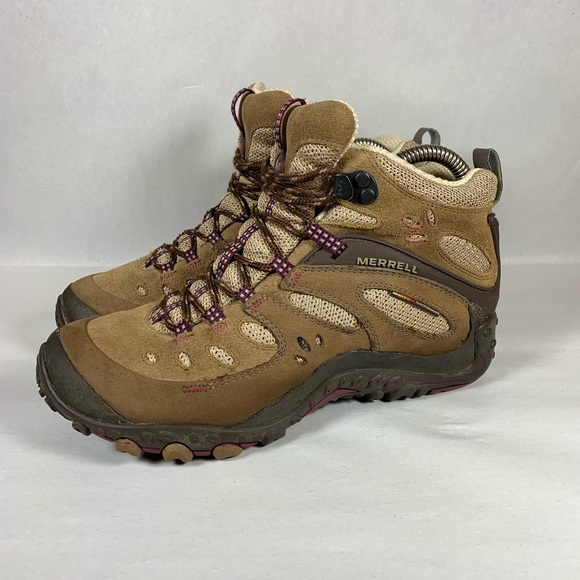 Merrell Chameleon Arc Mid Waterproof Hiking Boots